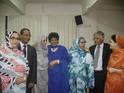 Winnie Mandela, Abdelkader, Jadiya, Fatma, Suema y Zahra